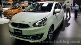 Mitsubishi Mirage facelift showcased at 2015 Thai Motor Expo - IAB Report
