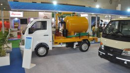 Tata Ace Desilting Machine, Ace Zip Hopper Tipper showcased at Municipalika 2015 - IAB Report