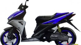 Yamaha Aerox 125 leaked, to launch in 2016 - Indonesia