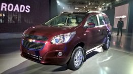 Chevrolet Spin - Auto Expo 2016 Live