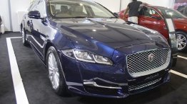 2016 Jaguar XJ showcased at Make In India event - IAB Report