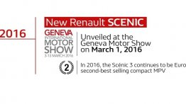 2016 Renault Scenic confirmed for Geneva debut - IAB Report