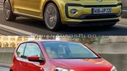 2016 VW Up! (facelift) vs pre-facelift model - Old vs. New