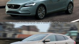 2016 Volvo V40 (facelift) and V40 Cross Country - Old vs. New