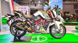 Benelli TNT 25 with accessories - Auto Expo 2016