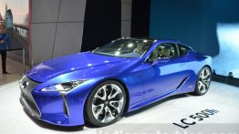 Lexus LC officially confirmed to be launched in India on 31 January