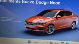 Alleged 2016 Dodge Neon (rebadged Fiat Tipo) leaked - Report