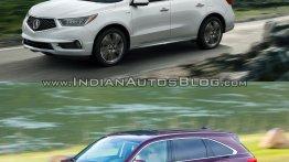 2017 Acura MDX vs. old Acura MDX - Old vs. New