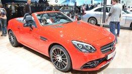 Mercedes SLC 43 AMG - Geneva Motor Show Live