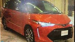 2016 Toyota Previa (Estima) facelift leaked - Report