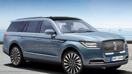 2018 Lincoln Navigator - Rendering