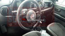 Fiat Mobi interior spied yet again