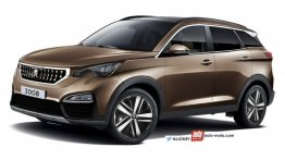 2016 Peugeot 3008 rendered, to be unveiled on May 23 - Report