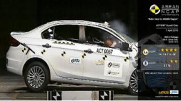 Suzuki Ciaz scores 4/5 in ASEAN NCAP crash test