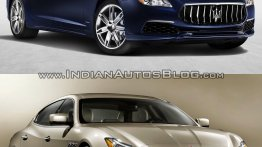 Maserati Quattroporte - Old vs. New