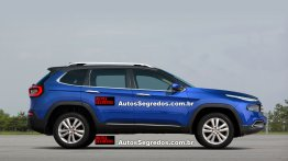 Fiat Toro SUV under development