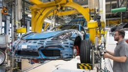 Porsche commences production of Porsche 718 Cayman