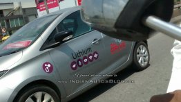 Renault Zoe EV spied in Bangalore