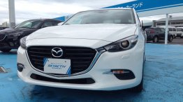 2016 Mazda3 (facelift) spied up-close revealing design changes