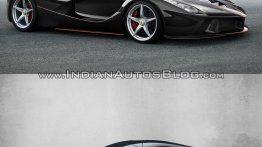 LaFerrari Spider vs. LaFerrari - In Images