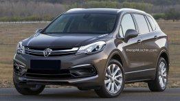 Proton Perdana-based SUV - Rendering