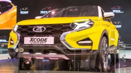 Lada XCODE Concept compact SUV revealed