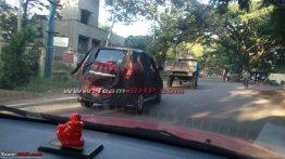 Mahindra e2o 4-door spotted testing in Bangalore