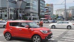 Kia Soul facelift spotted completely undisguised