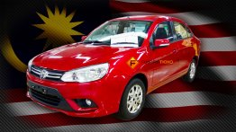 2016 Proton Saga spied undisguised; launches this year - Malaysia