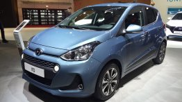 Hyundai (Grand) i10 facelift unveiled at Paris Motor show