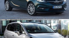 2017 Opel Zafira vs 2011 Opel Zafira - In Images