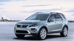 2018 Tata Safari rendered based on the Land Rover Discovery Sport
