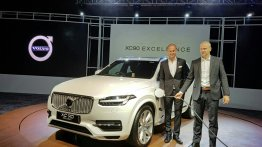 Volvo XC90 Excellence PHEV launched at INR 1.25 crores in India (Updated)