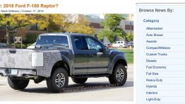 2018 Ford F-150 Raptor testing before the 2017 model's launch?