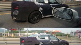 Genesis G70 spied testing in South Korea
