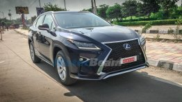 Lexus RX 450h spotted in Delhi with test plates, will launch in early 2017