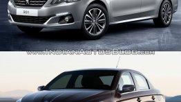 2017 Peugeot 301 vs. 2013 Peugeot 301 - Old vs. New