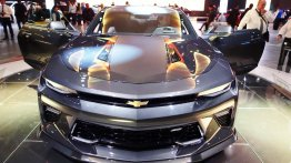Chevrolet Camaro showcased at 2016 Bogota Auto Show
