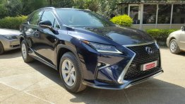 IAB reader spots the Lexus RX450h India, will launch in early 2017