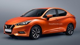 Nissan Micra-based next-gen Nissan Sunny looks promising - Rendering