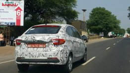 Tata Kite 5 reveals more details of its posterior in a new spy shot