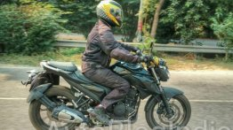 Yamaha MT-03 spied testing in India for the first time