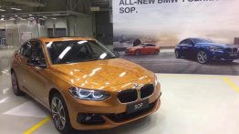 Production of the BMW 1 Series Sedan begins in China