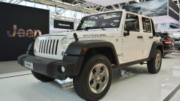 Jeep Wrangler Rubicon, Jeep Cherokee Night Eagle - 2016 Bologna Motor Show