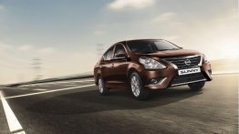 2017 Nissan Sunny launched with new exterior color & black interior