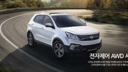 2017 SsangYong Korando launched in South Korea