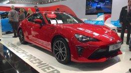 2017 Toyota GT86 showcased at Vienna Auto Show