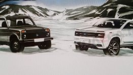 New Lada Niva allegedly previewed in a leaked official sketch