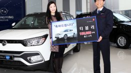 SsangYong Tivoli sales cross 100,000 units, emerges segment leader - South Korea