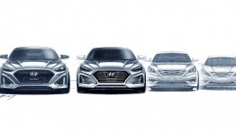 2017 Hyundai Sonata (facelift) teased, Hyundai Sonata turbo confirmed